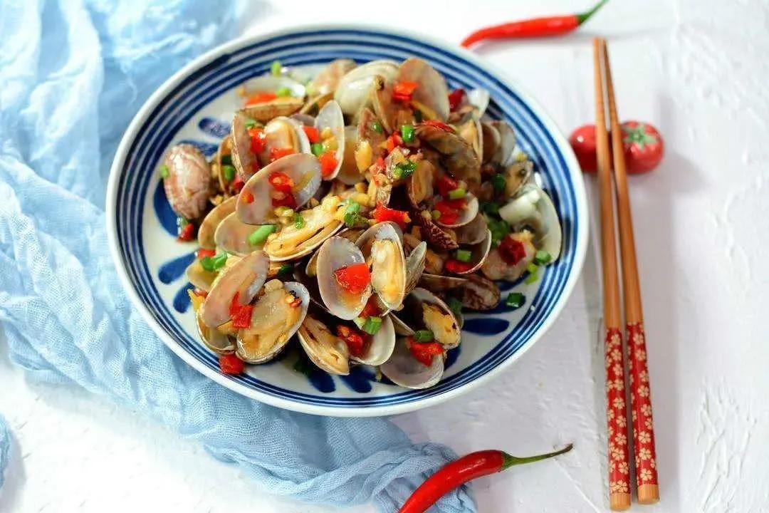 夏日一鲜——辣炒花蛤