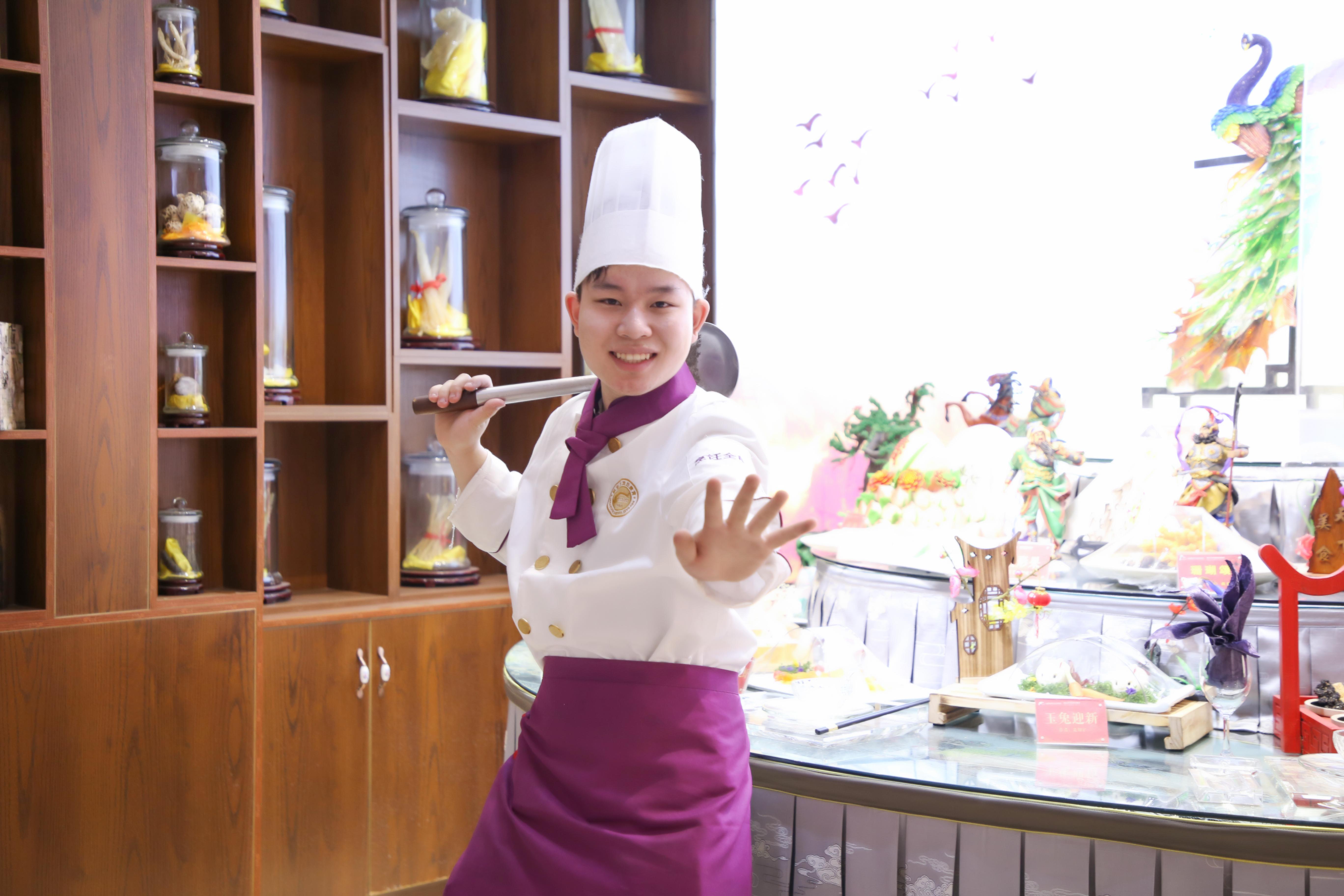 新生采访——烹饪精英专业吉超