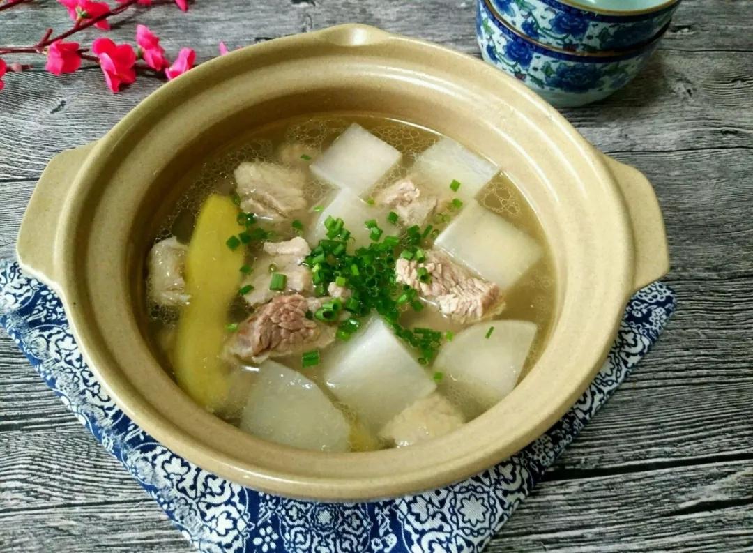羊肉萝卜汤,暖胃又暖心