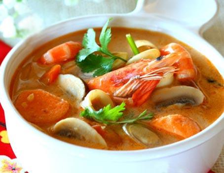 泰式海鲜酸辣汤怎么做