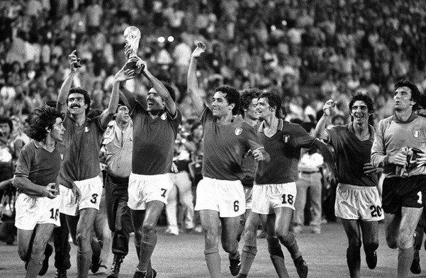 世界杯史上意大利的五次夺冠图片