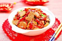 山西新东方美食推荐:锅巴辣子